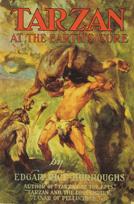 Tarzan earth's core